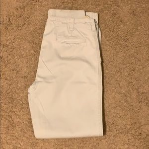 J. Crew chinos 34X34 light gray relaxed fit